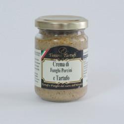 Porcini mushroom and truffle cream sauce