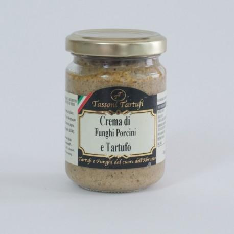 Crème aux cèpes et à la truffe